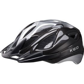 KED Tronus - Casque de vélo - noir/argent